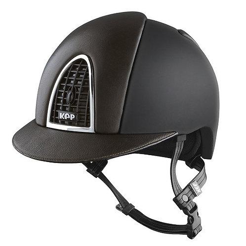 KEP - Cromo Textile noir/cuir marron