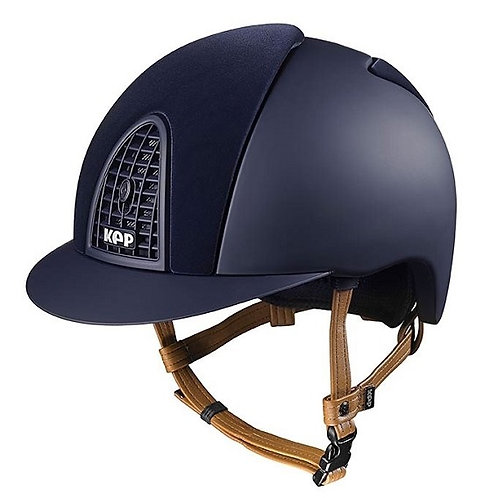 KEP - Casque cromo velvet bleu