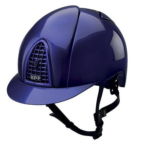 KEP - Casque cromo shine miroir bleu