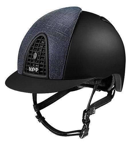 KEP - Cromo Textile noir/glitter galassia bleu