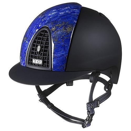 KEP - Cromo textile noir/avant en lapis-lazuli