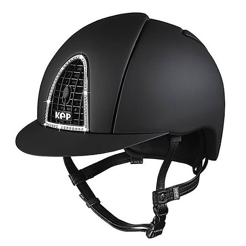 KEP - Cromo Textile noir/swarovski/grille noire