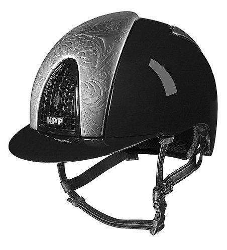 KEP - Cromo metal nero/floreale