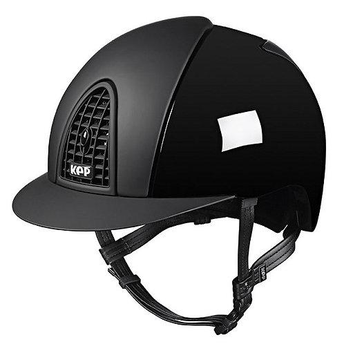 KEP - Casque cromo polish noir/détails opaques