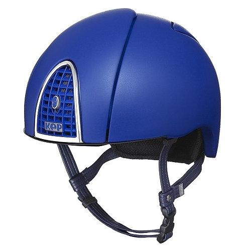 KEP - Cromo jockey bleu givré arc en ciel