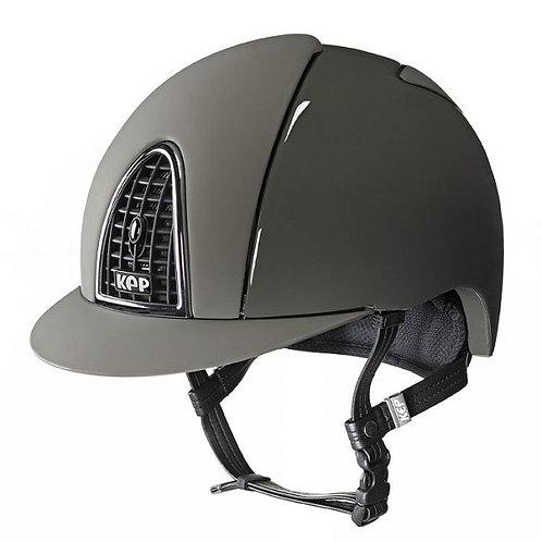 KEP - Casque cromo shine vert militaire