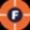 F, FOOTCONNECTION, beeldmerk, culemborg, design, sideqick.nl, ontwerp, oranje, blauw, topsport, foot, connection, monaka