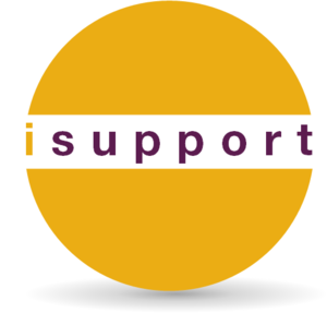 Logo, isupport van iresearch, netwerk, gezondheidswetenschappers