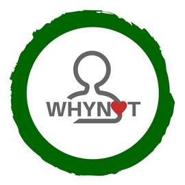 Beeldmerk, logo, Whynot, kenia, groen, rood