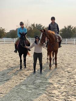 Kylee, Maria and Lauren Billys