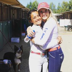 Carisa and Teresa at Woodside