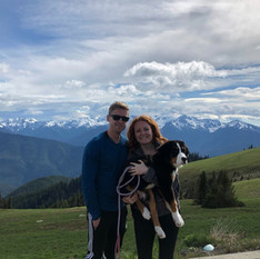 Olive's first day hike with Mom and Dad 5-27-19