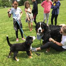 Bernie meeting the Big Dog  5-24-19