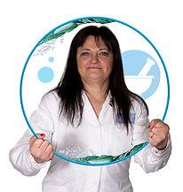 Foto di Dottoressa Santina Baietta, direttrice e responsabile di dispensazione del farmaco, rapporti con medici di base e ASL e specializzata in medicinali veterinari- Farmacia Petrini - Melegnano