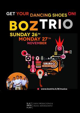 London, Boz Trio
