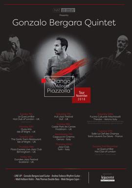 Gonzalo Bergara TOUR Poster 2018