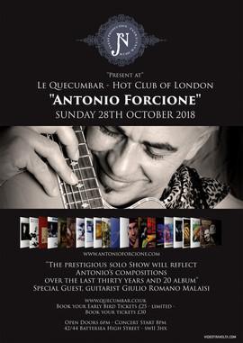 Antonio Forcione Poster, London