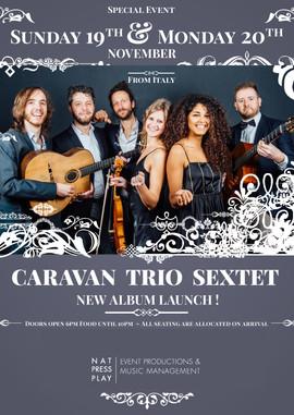 Caravan Trio, London