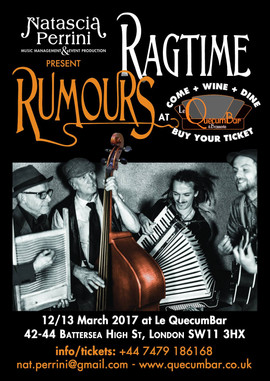 Ragtime Romours, London