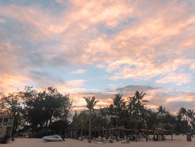 punta cana sunset