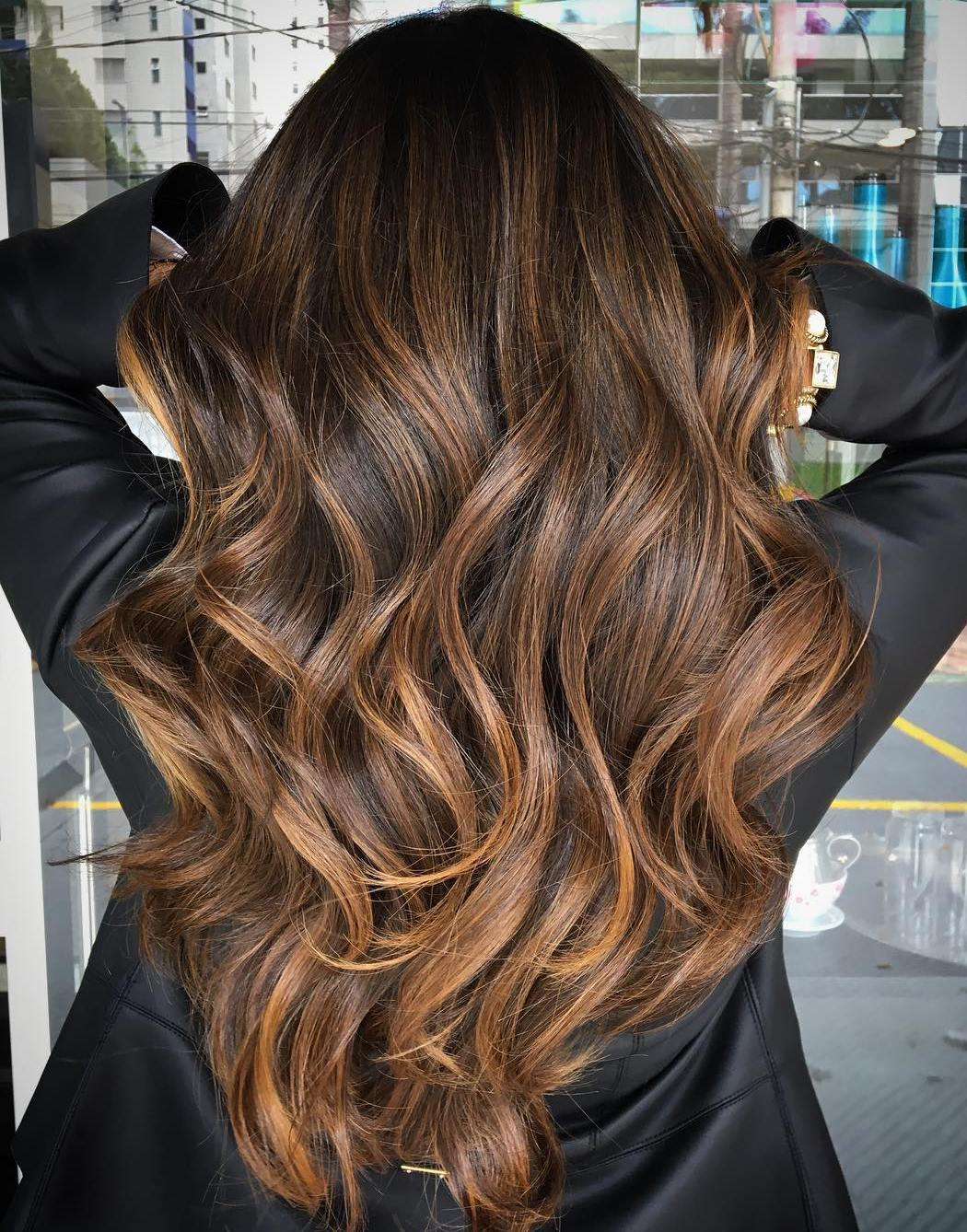 7-long-caramel-balayage-for-brunettes