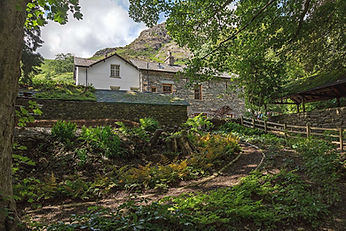Coachman's House, Coniston, Garden