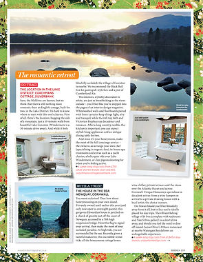 Coachman's House, Coniston, Brides Magazine