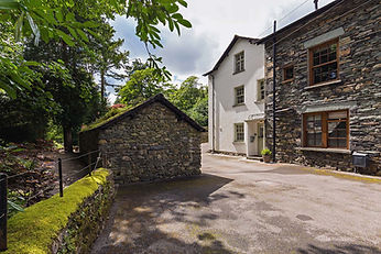 Coachman's House, Coniston, Driveway