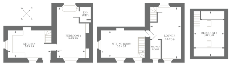 Coachman's House, Coniston, Floor Plan
