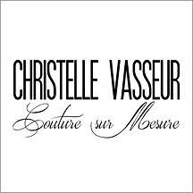 logo christelle vasseur Couture sur mesu