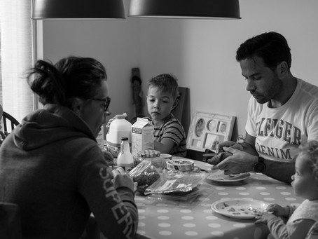 Days at Home Reportage