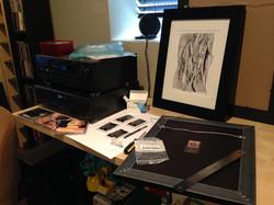 Custom matting and framing
