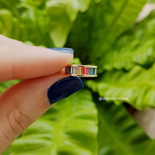 Piercing Baguetes Coloridas