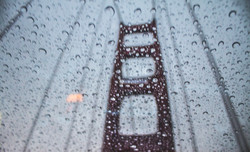 Rainy Goldon Gate