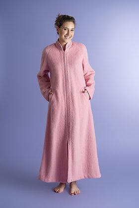 Robe d'hôtesse zippée et galon torsades
