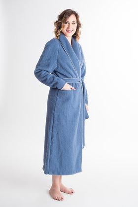 Robe de chambre galon bicolore