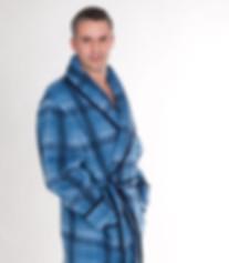 Boutique Homme, tissu des Pyrénéees, en laine et lainages, robes de chambre, peignoirs, vestes, fabriqués en France