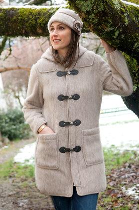 Duffle coat fermeture brandebourg