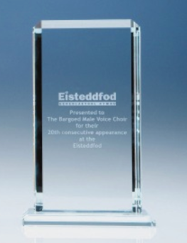 23cm CrystalEdge Clear Echo Award