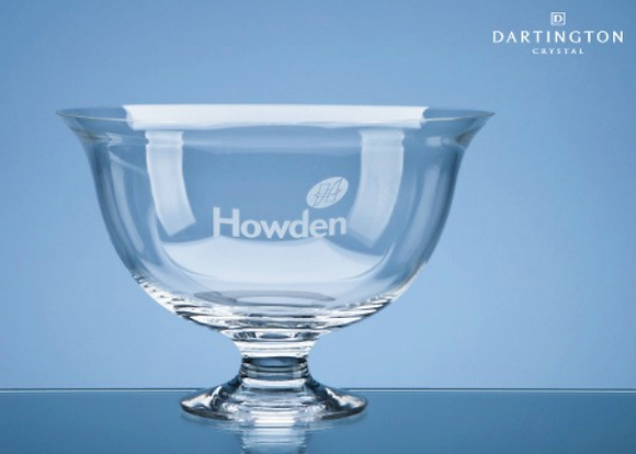 23cm Dartington Crystal Fortuna Bowl