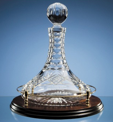 Shire Crystal Captains Decanter