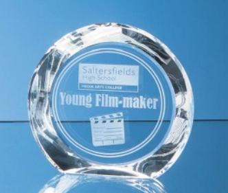 20.5 cm Optical Crystal Elite Circle Award