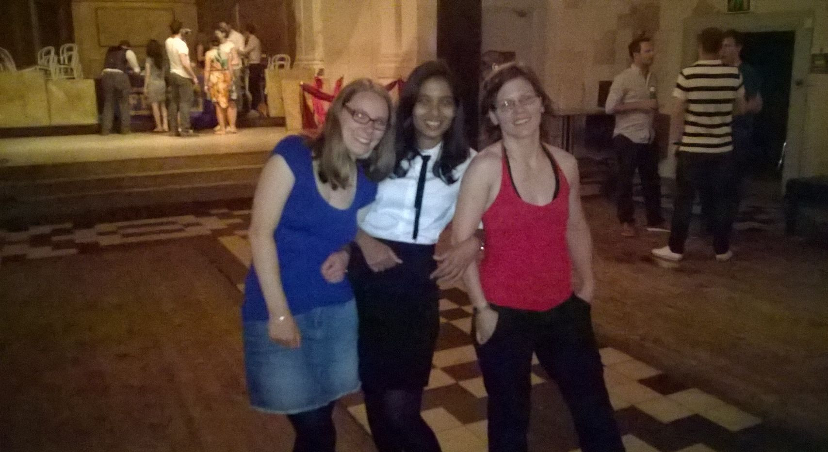 Sneha with Sina and Cornelia.JPG