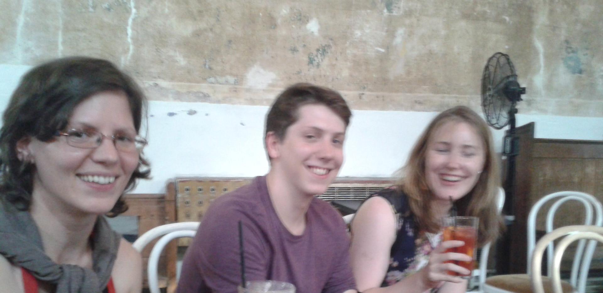 Cornelia, Luke and Beth celebrating.jpg