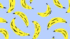 patrón de plátano