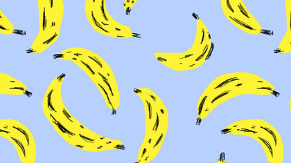 Motif de la banane