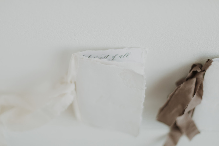 Wedding Vows in Calligraphy