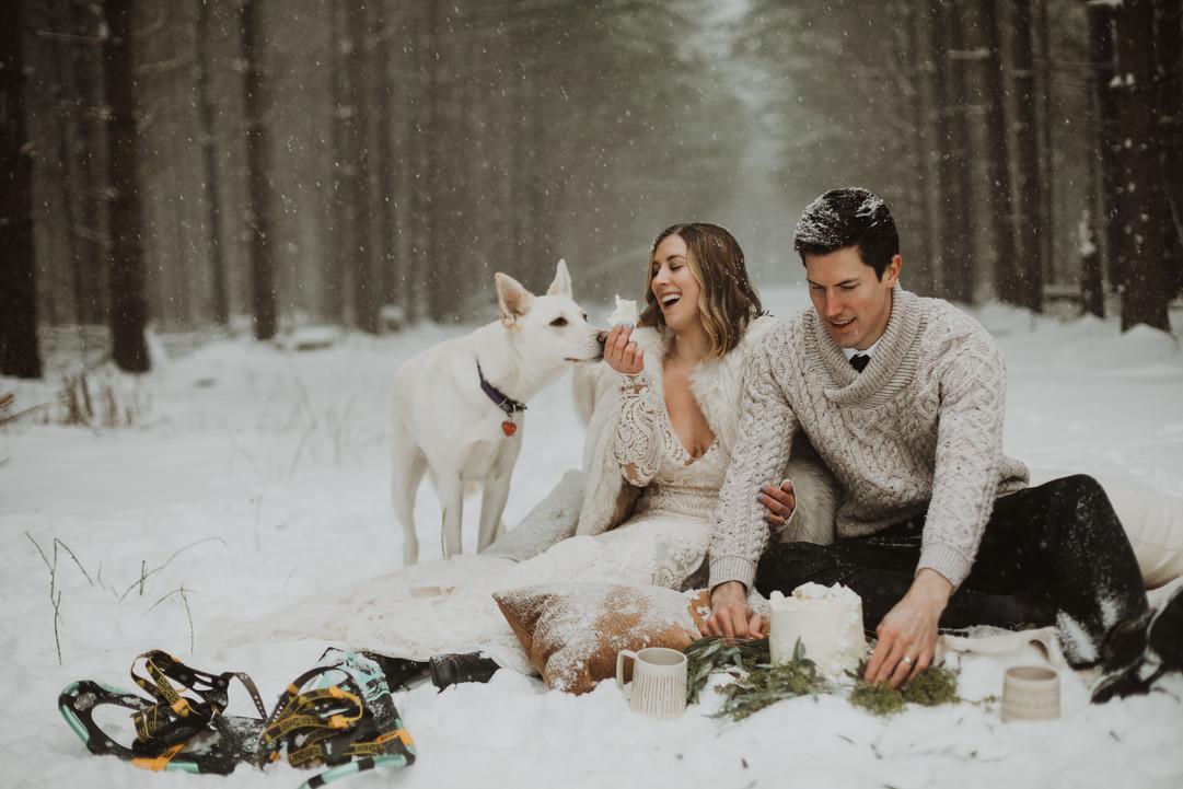 Winter Wedding in Guelph