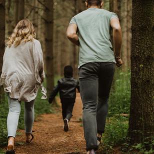 Eliane, Ben & Unam's First Family Photoshoot | Guelph Lake, Ontario