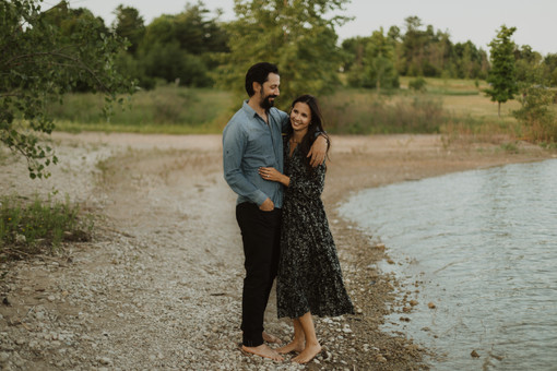 Summer Couples Session at Guelph Lake